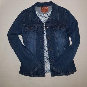 Bitten jean jacket